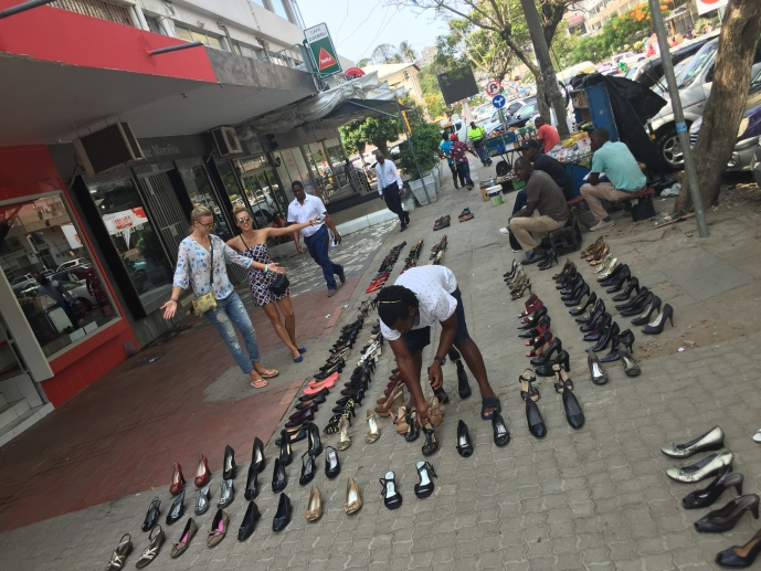 Shopping day in Maputo